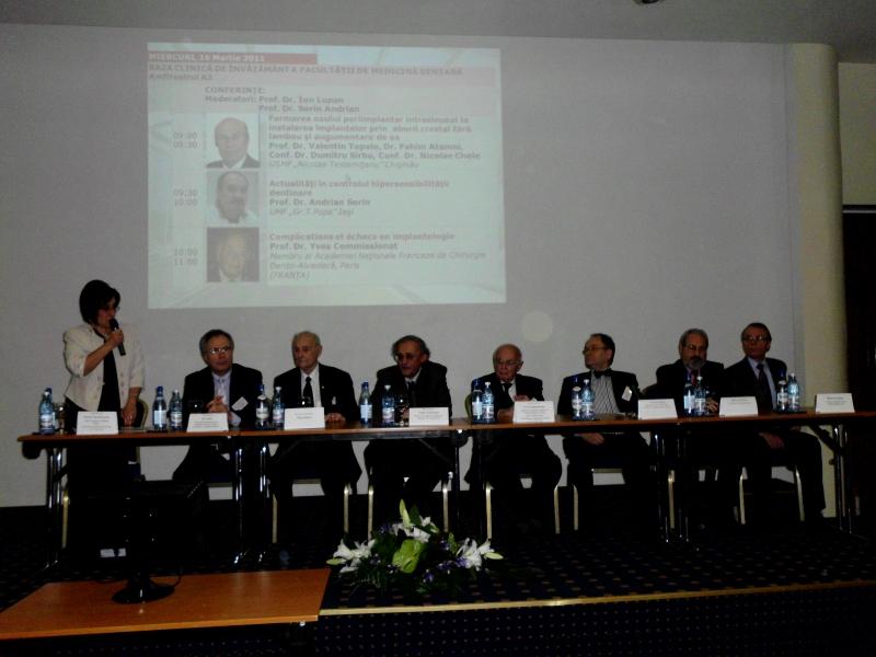 Ediția a XV-a a Zilelor Facultății de Medicină Dentară Iași – Chișinău, al III-lea Congres Internațional ADRE