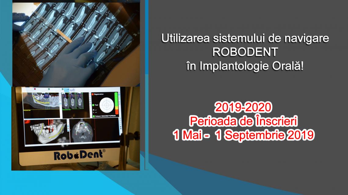 ATESTAT ÎN IMPLANTOLOGIA ORALA 2019-2020